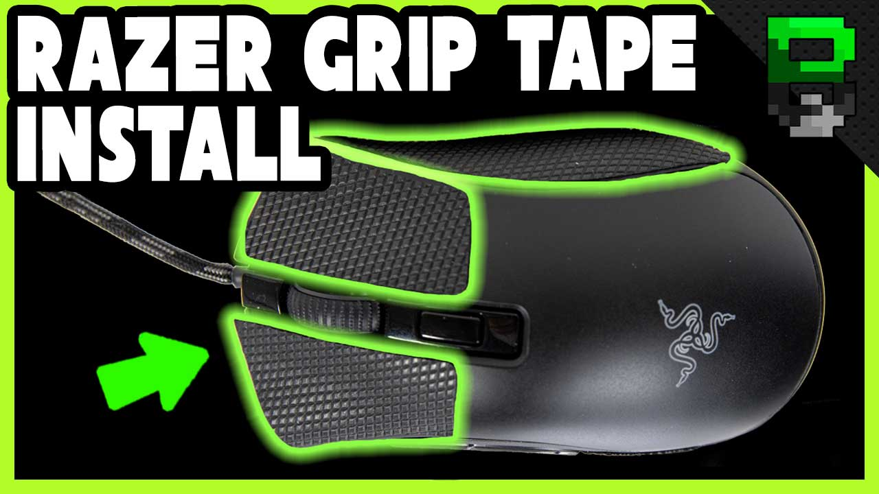 Razer Grip Tape Review and Install on the Razer Deathadder Mini Gaming Mouse