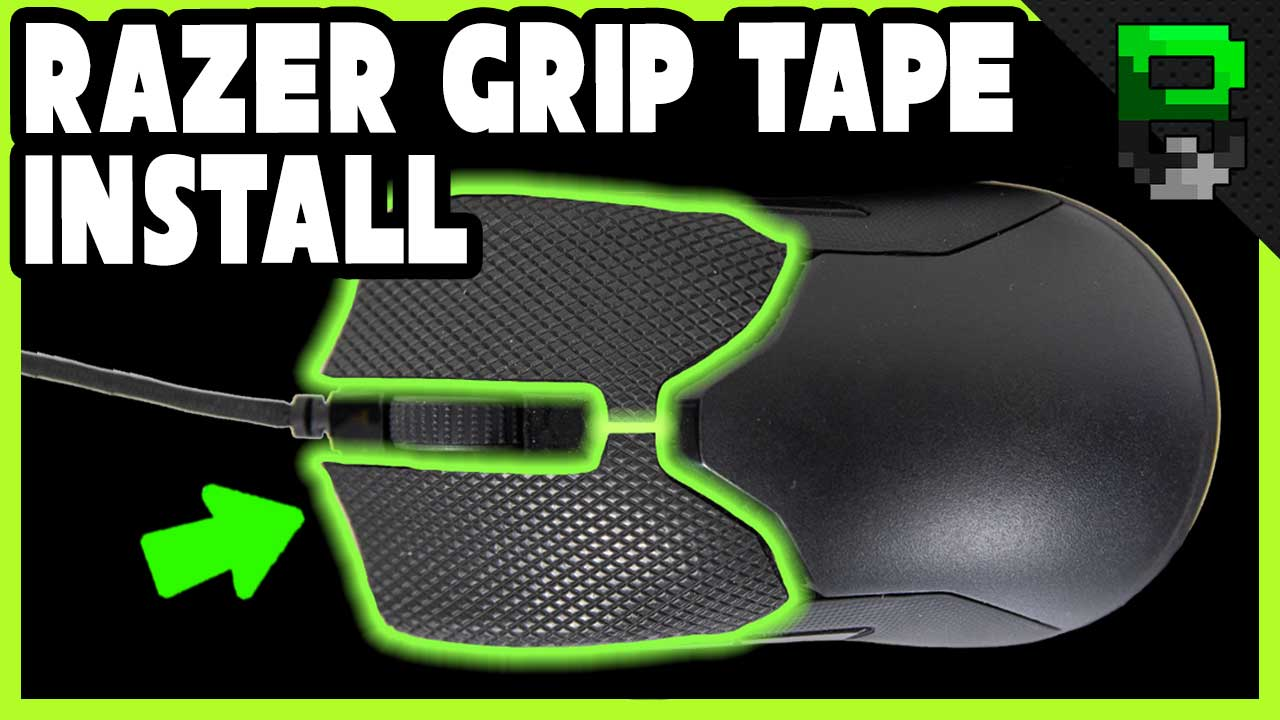 Razer Grip Tape Review and Install on the Razer Viper Gaming Mouse