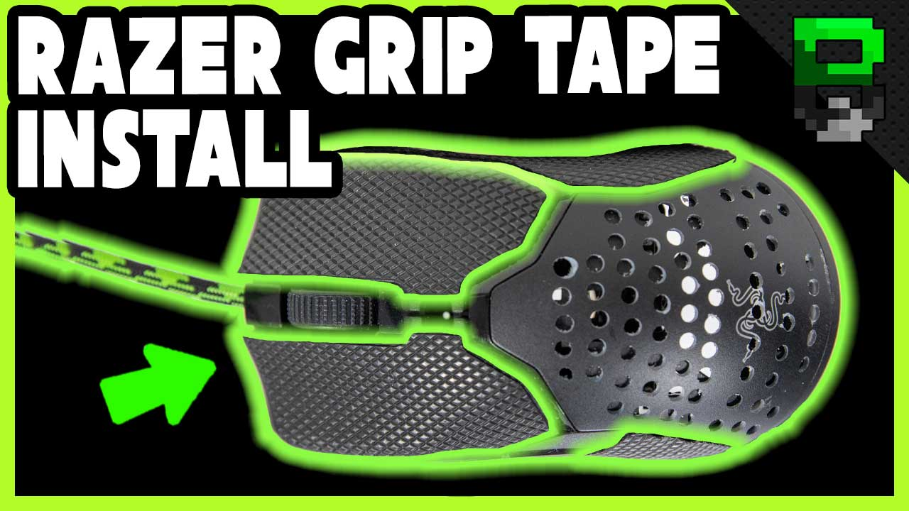 Razer Grip Tape Review and Install on the Razer Viper Mini Gaming Mouse
