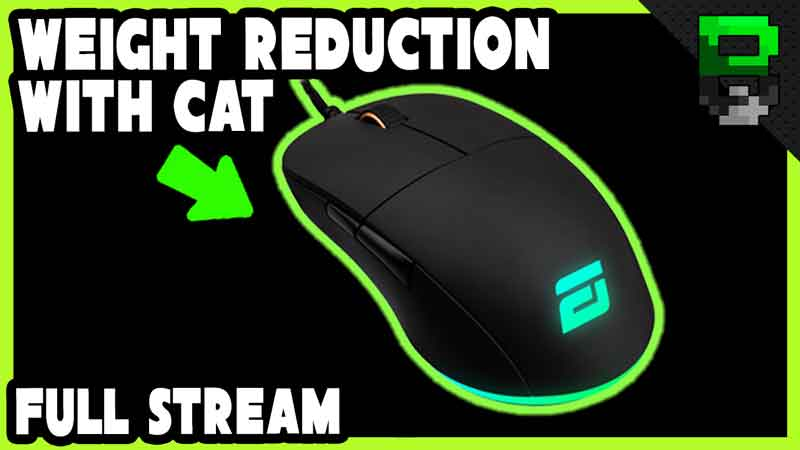 EndGame Gear Xm1 RGB Weight Reduction With Cat – Live Stream