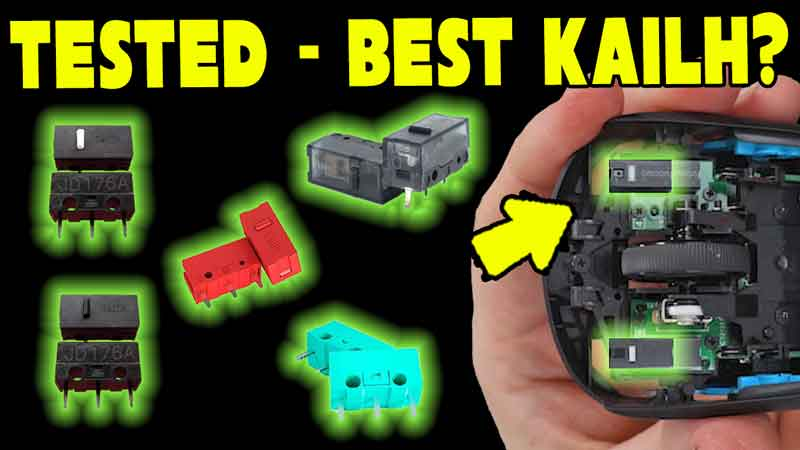 Which one should you use? Mouse Switch Replacement | Kailh GM 8.0 Vs 4.0 Red, GM2.0 Teal?