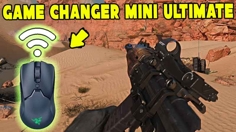 A Game Changer Razer Viper Mini Ultimate | Wireless Gameplay PC Call Of Duty Cold War