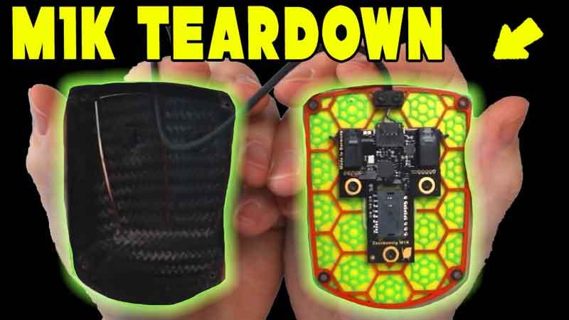 23g Carbon Fiber Teardown – Zaunkoenig M1K Gaming Mouse