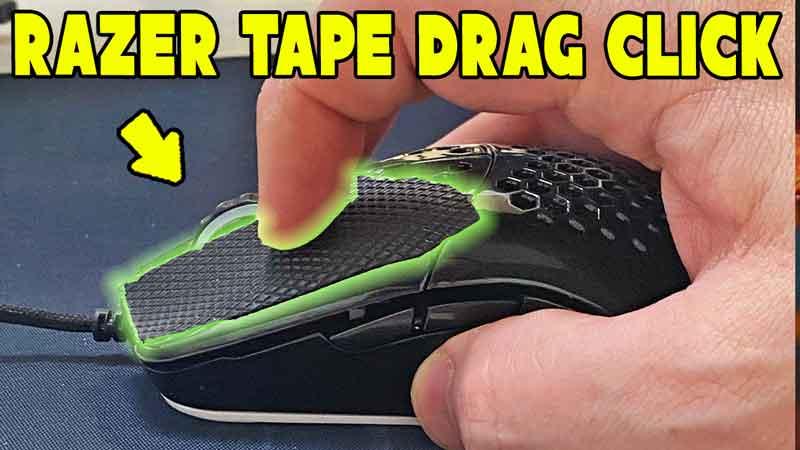 Model O Drag Clicking with Razer Grip Tape
