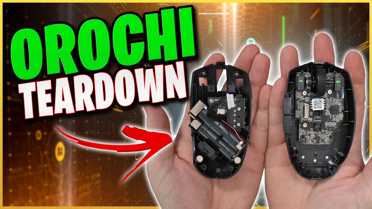 Razer Orochi V2 Teardown – Taking it apart to see what its made of – Kailh Switches