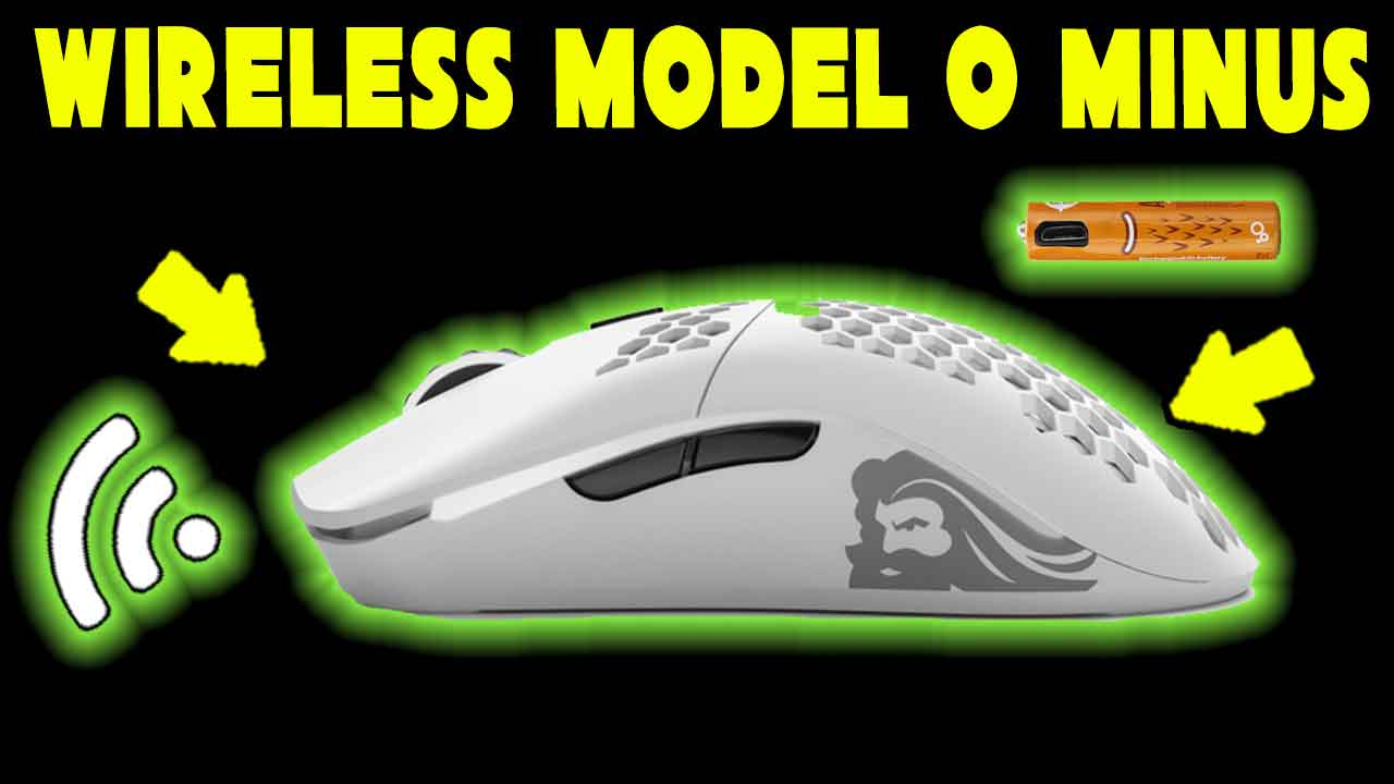 How to make a Glorious Model O minus Wireless